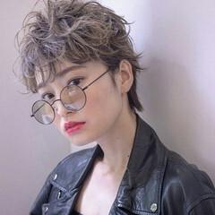 ショート 暗髪 ストリート ロック ヘアスタイルや髪型の写真・画像