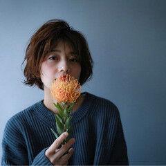 花 ナチュラル 大人かわいい ヘアアレンジ ヘアスタイルや髪型の写真・画像
