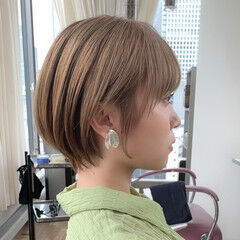 ショート ショートヘア ナチュラル ナチュラル可愛い ヘアスタイルや髪型の写真・画像