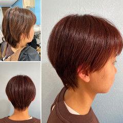 ベリーショート メンズショート ウルフカット ショートボブ ヘアスタイルや髪型の写真・画像