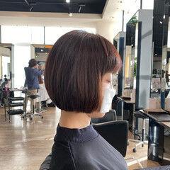 ナチュラル 内巻き 艶髪 大人可愛い ヘアスタイルや髪型の写真・画像