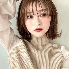 ゆるふわパーマ 大人かわいい エレガント デジタルパーマ ヘアスタイルや髪型の写真・画像