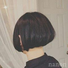 黒髪 モード クラシカル ボブ ヘアスタイルや髪型の写真・画像