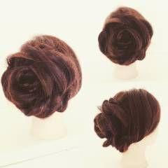 ヘアアレンジ 花 ローズ ヘアスタイルや髪型の写真・画像