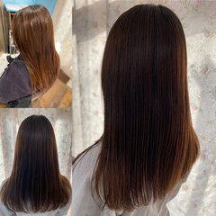 縮毛矯正 エレガント 髪質改善トリートメント 最新トリートメント ヘアスタイルや髪型の写真・画像