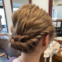 可愛い ふわふわヘアアレンジ ミディアム  ヘアスタイルや髪型の写真・画像