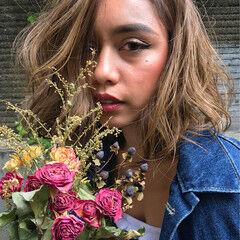 かわいい 色気 大人女子 ガーリー ヘアスタイルや髪型の写真・画像
