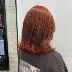 ピンクブラウン ピンク ガーリー ピンクベージュ ヘアスタイルや髪型の写真・画像