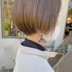 ミニボブ ナチュラル モテボブ ショートヘア