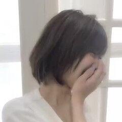撮影 外ハネ ミディアム ゆる巻き ヘアスタイルや髪型の写真・画像