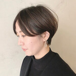 ナチュラル 簡単スタイリング ショート ショートヘア