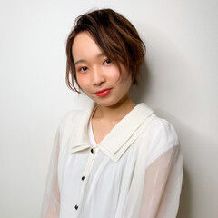 ベリーショート 小顔ショート ショートバング ヘアスタイルや髪型の写真・画像