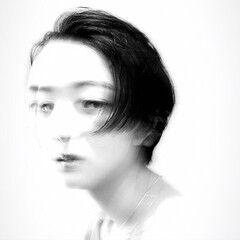 小顔 アンニュイほつれヘア パーマ ナチュラル ヘアスタイルや髪型の写真・画像
