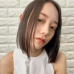 ナチュラル ヘルシースタイル こなれ感 ショートボブ ヘアスタイルや髪型の写真・画像