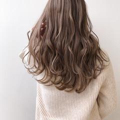 ミルクティーベージュ ミルクティーグレー ミルクティーグレージュ ミルクティー ヘアスタイルや髪型の写真・画像
