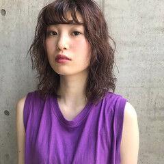 抜け感 ミディアム 大人女子 簡単 ヘアスタイルや髪型の写真・画像