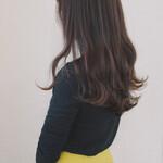 デート ロング 巻き髪 パーマ