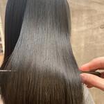 ナチュラル 髪質改善トリートメント ミディアム 髪質改善