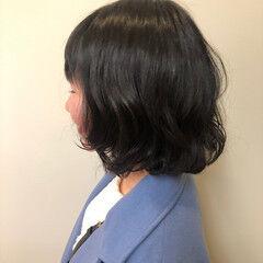 ナチュラル可愛い デート ガーリー パーマ ヘアスタイルや髪型の写真・画像