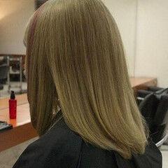 アクセサリーカラー ストリート ミルクティーベージュ ポイントカラー ヘアスタイルや髪型の写真・画像