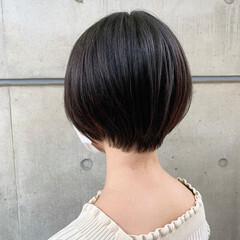 ショートボブ 大人かわいい ショート ショートヘア ヘアスタイルや髪型の写真・画像