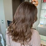 艶髪 ナチュラルブラウンカラー エレガント ロング
