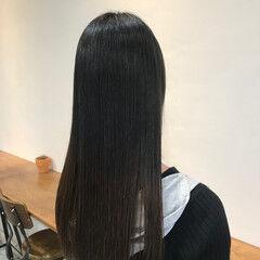 ロング ストレート 大人可愛い 大人ロング ヘアスタイルや髪型の写真・画像
