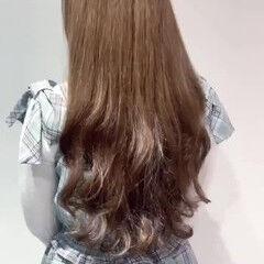 ナチュラル デジタルパーマ ゆるふわ ウェーブ ヘアスタイルや髪型の写真・画像