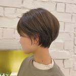 丸みショート デート 大人かわいい ショートヘア