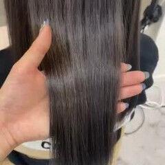 ロング 髪質改善トリートメント ナチュラル トリートメント ヘアスタイルや髪型の写真・画像