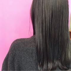 学校 セミロング スモーキーカラー 成人式 ヘアスタイルや髪型の写真・画像
