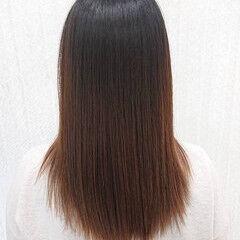髪の病院 縮毛矯正 ナチュラル 美髪 ヘアスタイルや髪型の写真・画像