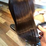 髪質改善 ロング 髪質改善トリートメント 縮毛矯正