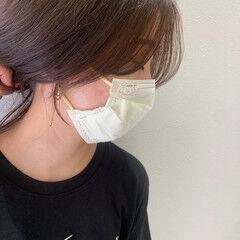 韓国風ヘアー 韓国ヘア 韓国 ナチュラル ヘアスタイルや髪型の写真・画像