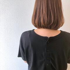 ワンカール モテボブ ベージュ ワンカールスタイリング ヘアスタイルや髪型の写真・画像