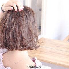 ゆるウェーブ 無造作ミックス デート バーム ヘアスタイルや髪型の写真・画像