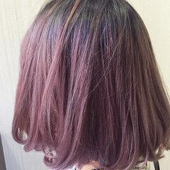 ナチュラル 透明感 ミディアム 渋谷系 ヘアスタイルや髪型の写真・画像