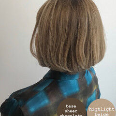 白髪染め エレガント 大人ハイライト おしゃれさんと繋がりたい ヘアスタイルや髪型の写真・画像