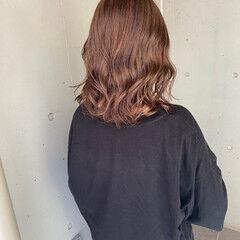 ブラウンベージュ ショコラブラウン ブランジュ ボブ ヘアスタイルや髪型の写真・画像