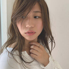ママヘア 前髪あり ナチュラル アディクシーカラー ヘアスタイルや髪型の写真・画像
