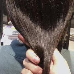 最新トリートメント ナチュラル ツヤ髪 セミロング ヘアスタイルや髪型の写真・画像