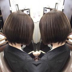 アッシュ 外国人風 ナチュラル グレージュ ヘアスタイルや髪型の写真・画像