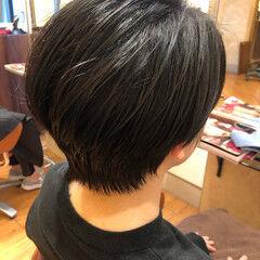 大人ヘアスタイル スッキリ 大人かわいい シンプル ヘアスタイルや髪型の写真・画像