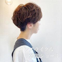 ボーイッシュ ショート ショートボブ ショートヘア ヘアスタイルや髪型の写真・画像