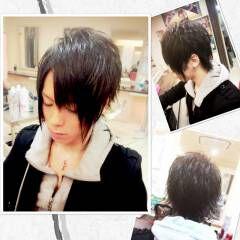 黒髪 ヘアアレンジ 外ハネ ヘアスタイルや髪型の写真・画像