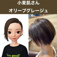 ストリート パーソナルカラー ヘアカラー ショート ヘアスタイルや髪型の写真・画像