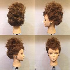 花嫁 ブライダル 上品 お団子 ヘアスタイルや髪型の写真・画像