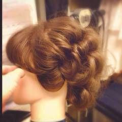 ヘアアレンジ 夏 艶髪 ヘアスタイルや髪型の写真・画像