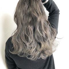 グラデーションカラー ロング 外国人風カラー ナチュラル ヘアスタイルや髪型の写真・画像