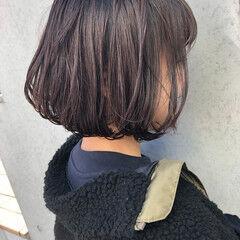 オフィス 女っぽヘア ワンレングス ナチュラル ヘアスタイルや髪型の写真・画像